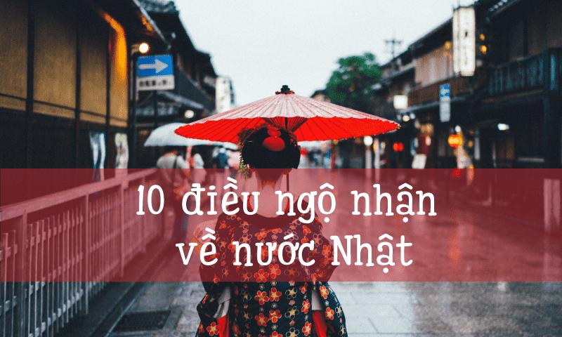10 điều ngộ nhận về nước Nhật
